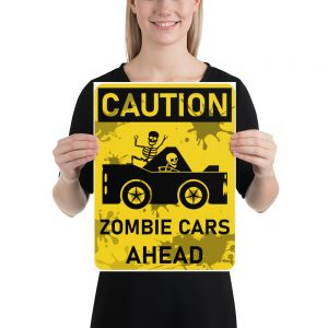 Zombie Cars Poster