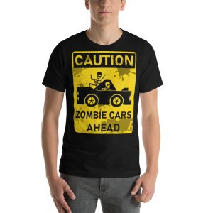 Zombie Cars Short-Sleeve Unisex T-Shirt